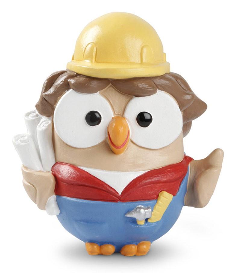 "ceramic figurine Goofo ""Engineer"""