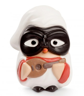 "ceramic figurine Goofo ""Pulcinella"""
