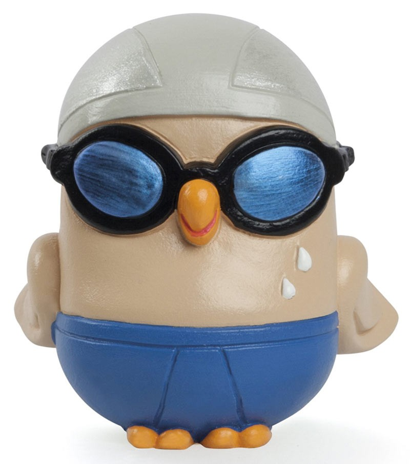 "ceramic figurine Goofo ""Swimming"""