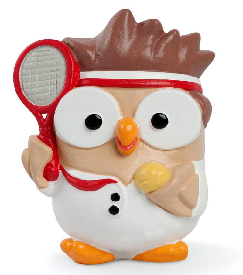"""ceramic figurine Goofo """"Tennis"""""""