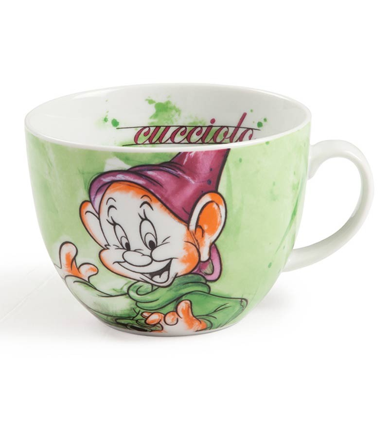 Dopey cappuccino cup