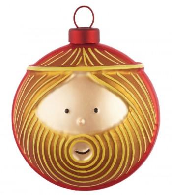 Joseph Christmas bauble design Marcello Jori