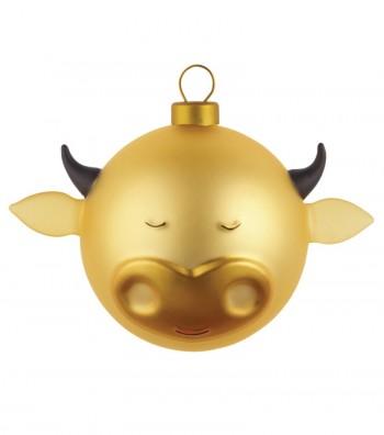 palla di Natale Bue design Marcello Jori