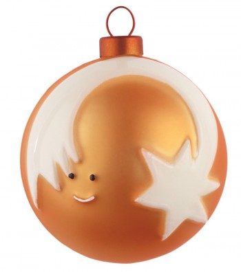 Christmas Star bauble design Marcello Jori