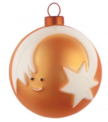 palla di Natale Stella Cometa design Marcello Jori