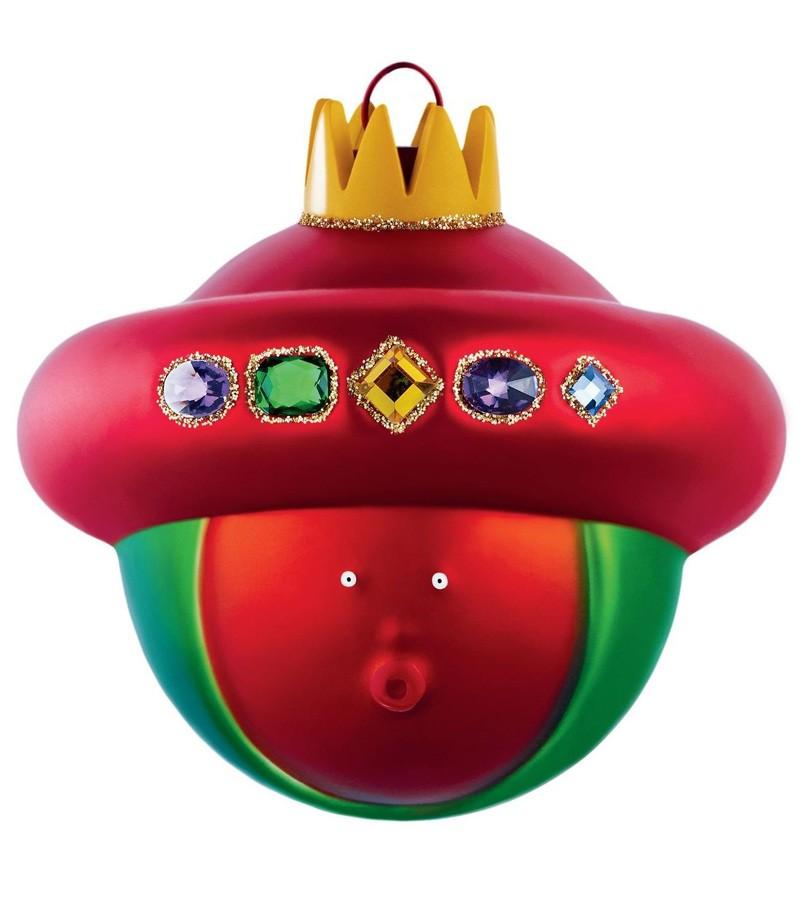 King Balthazar Christmas bauble design Marcello Jori