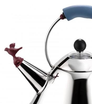 kettle bird detail design Michael Graves