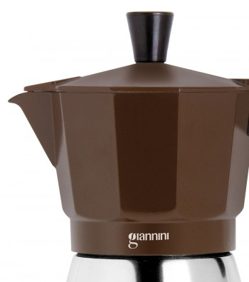 Detailed induction coffee maker Nina