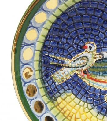 Detailed Doves plate
