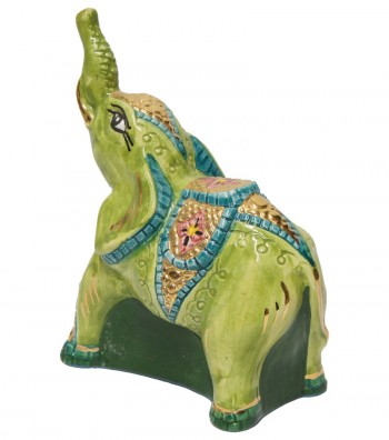 Big green elephant back