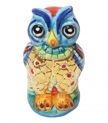 Big light blue owl