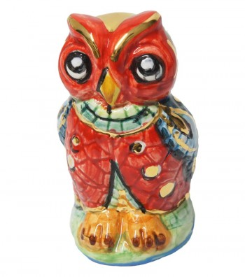 Big red owl