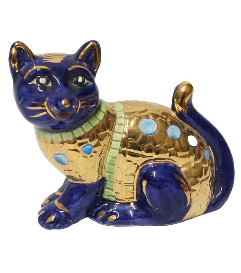 Big blue cat