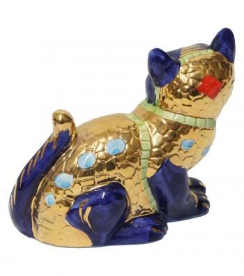 Big blue cat back