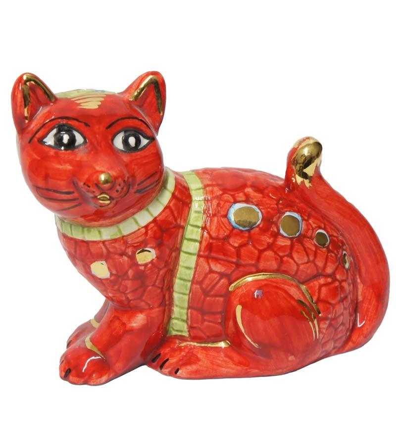 Big red cat