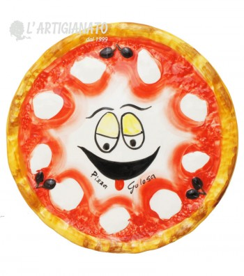 Ceramic Pizza Plate Golosa