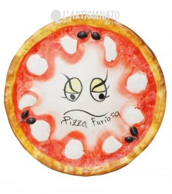 Ceramic Pizza Plate Furiosa