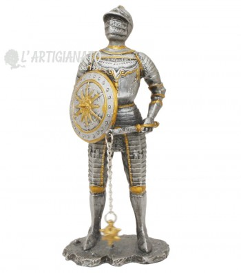 Armor with mace