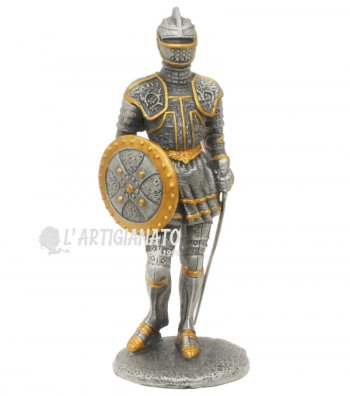 Armor with shield and sword