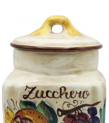Barattolo in ceramica per lo zucchero