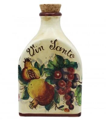 Bottiglia vino in ceramica