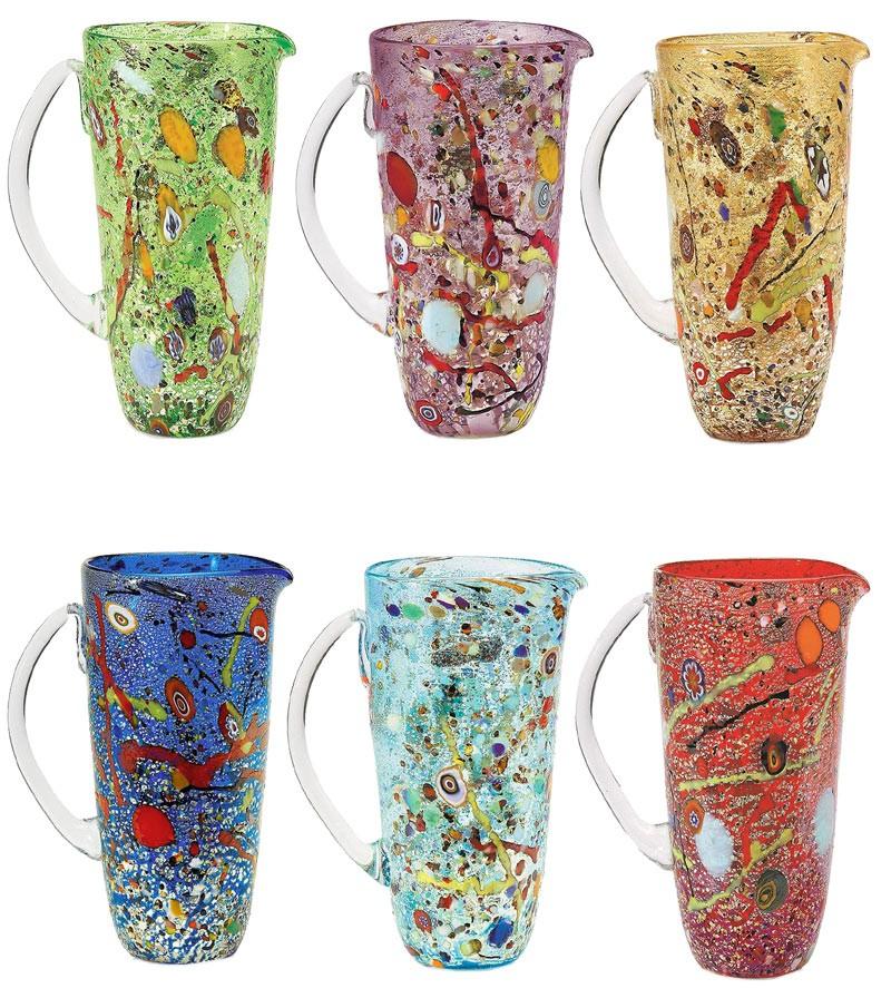 Caraffa Conica Arlecchino colori misti