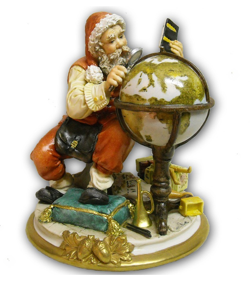 Statuette in porcellana Natale