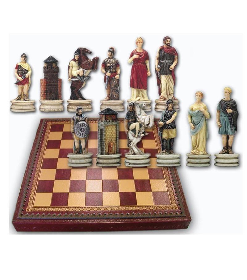 Full set: Chessboard in resin