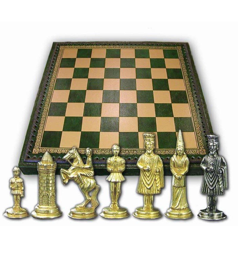 Full set thematic chessboard